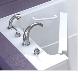 Faucet Accessory Deck Areas