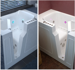 Left and Right Side Tub Door